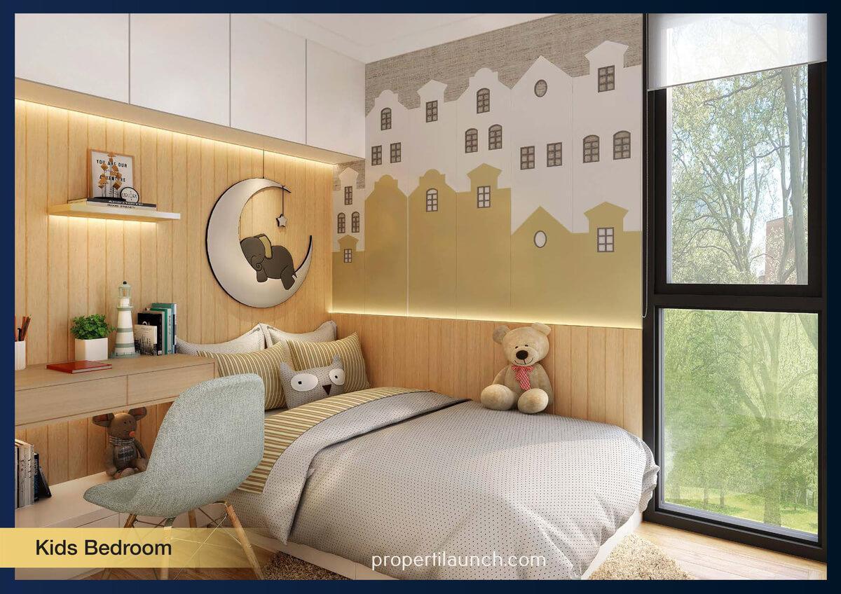 Show Unit Rumah Aether BSD - Kids Bedroom