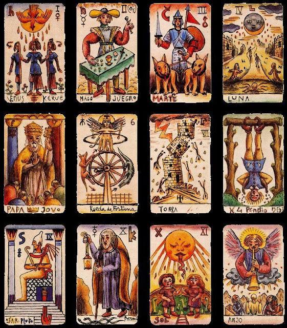Alejandro Xul Solar - 12 cartas del Tarot