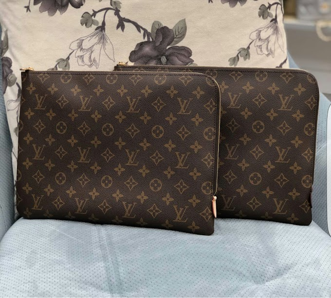 louis Vuitton portfolio large bag