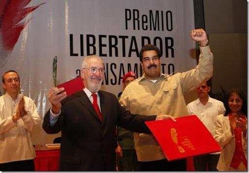 Boron y Maduro - Premio Libertador