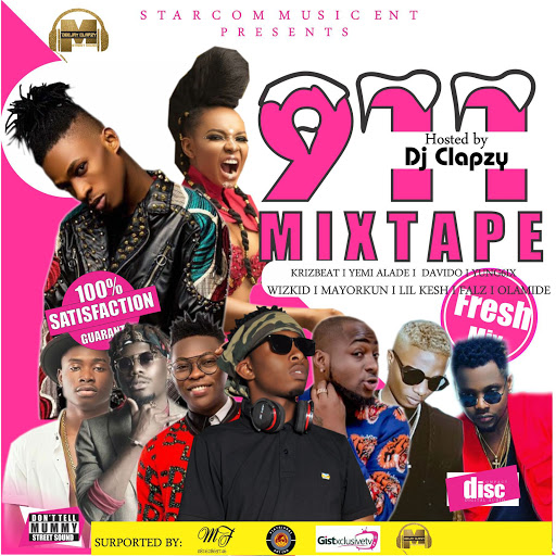 %255BUNSET%255D - MIXTAPE: DJ Clapzy – 911 Mixtape
