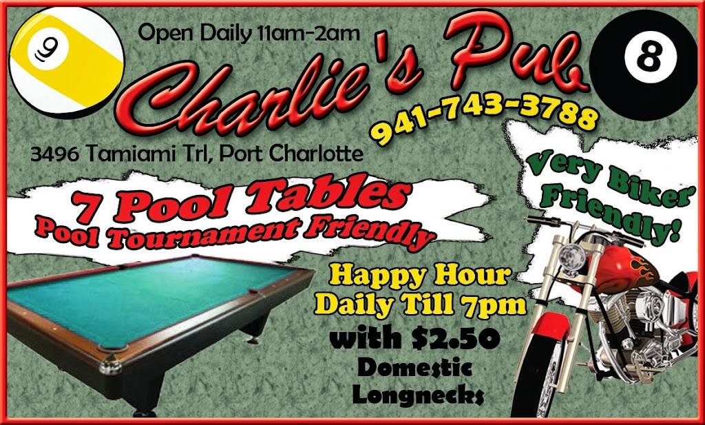 Charlies Pub BC Ad
