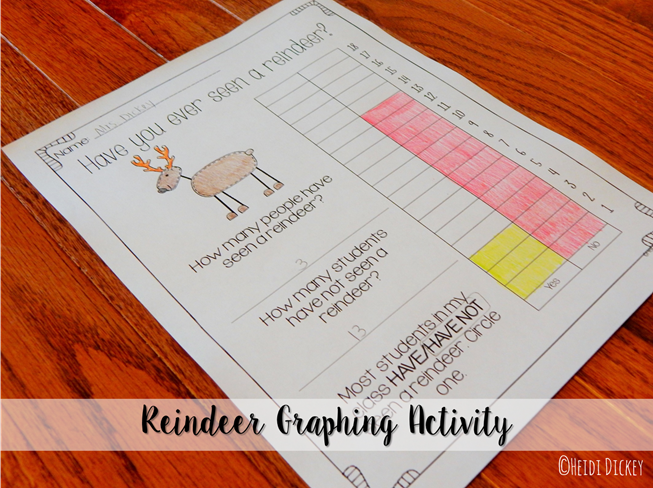 Reindeer Graphing Activity