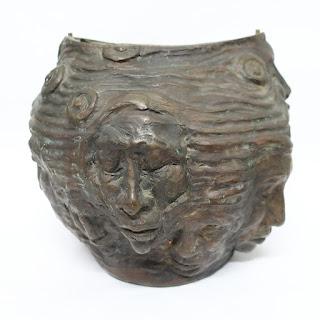 Bronze Handmade Urn