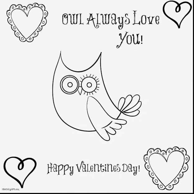 Fantastic Owl Always Love You Coloring Pages With Love You Coloring Pages  And Love