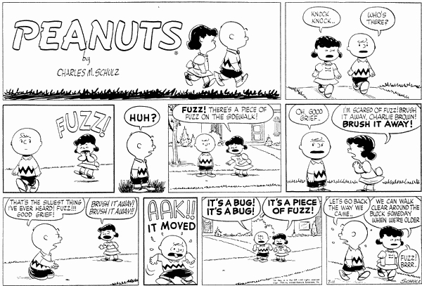 Image result for 1950's peanuts lucy