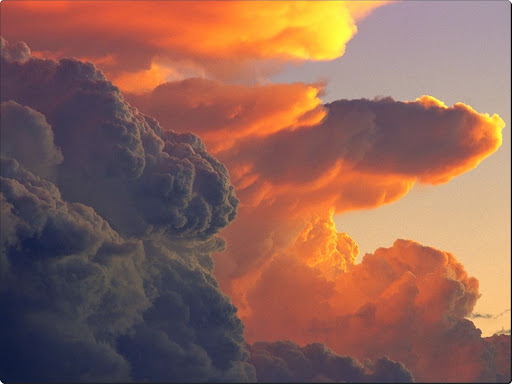 Cumulus Clouds at Sunset.jpg