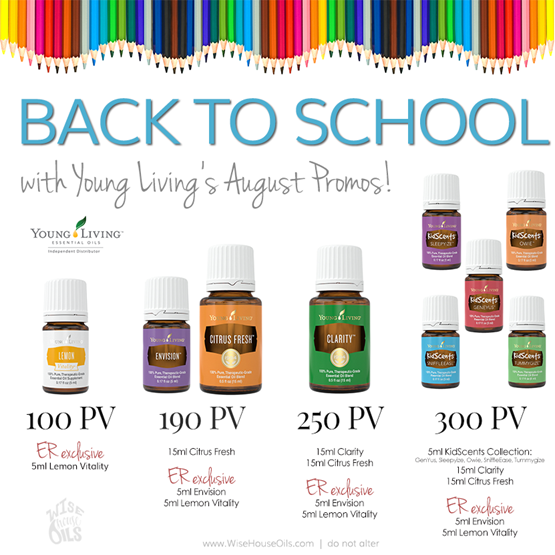 August 2017 Young Living Promo WHO