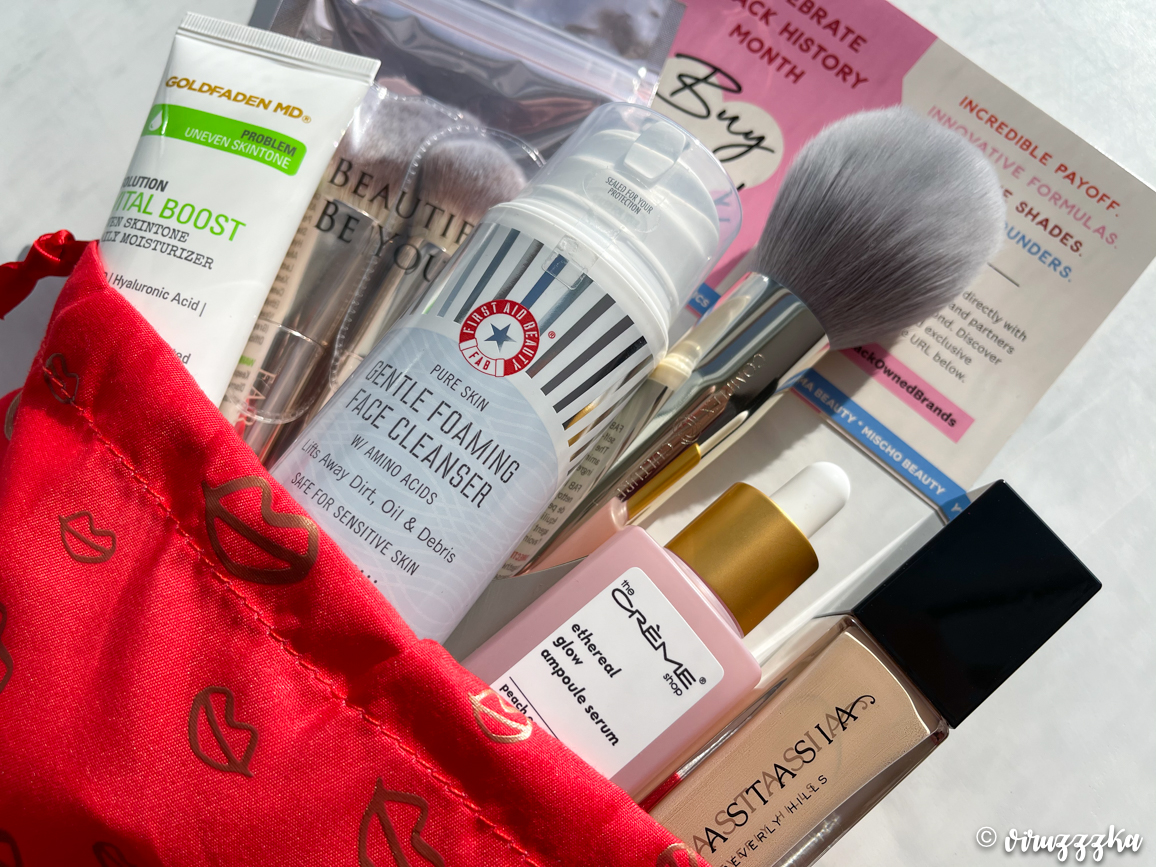 IPSY Glam Bag Plus February 2021 Unboxing Review