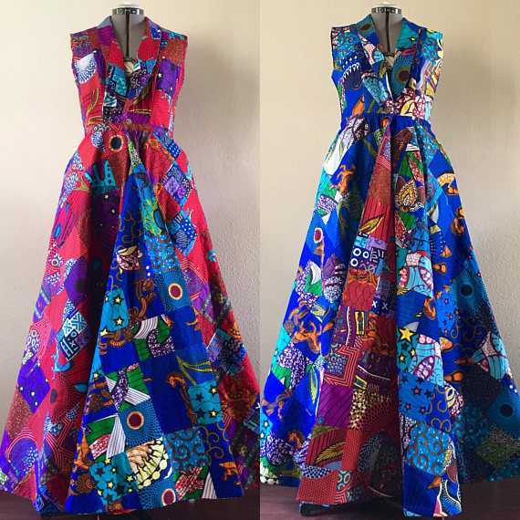 LATEST AFRICAN PRINT DRESSES FOR LADIES IN 2018 5