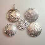 """2016.05.18: Delightful Reversible Hollow Silver """"Lentil"""" Beads 1 to 5:30 pm, at the Artsmiths of Pittsburgh (Mt. Lebanon)"""