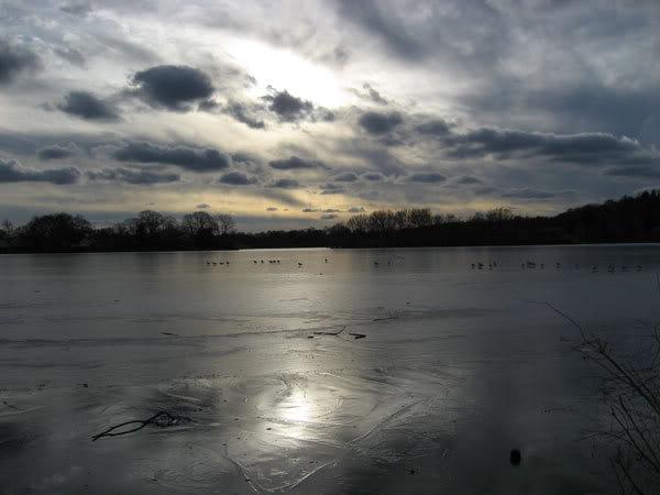 Зима и лед в Бостоне