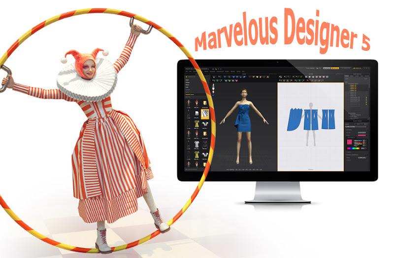 Miễn Phí Thiết Kế Thời Trang 3D Marvelous Designer 5 1