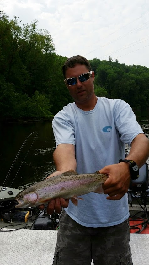 Muskegon River Trout Fishing Guide Service
