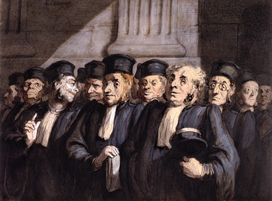 Honoré Daumier - Lawyers