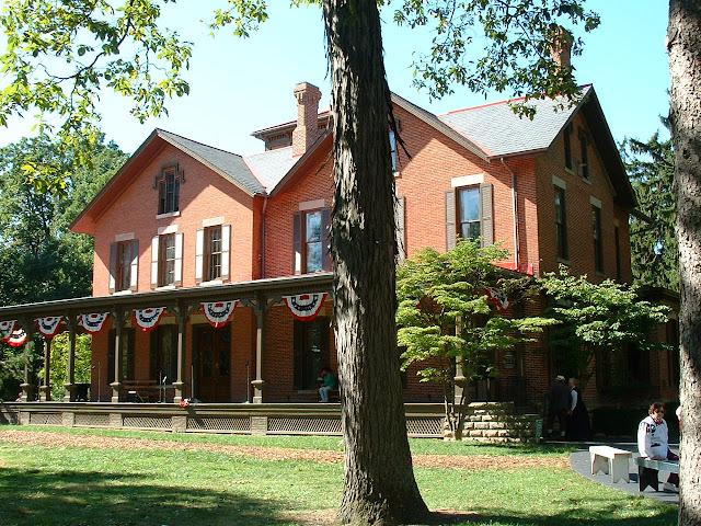 Rutherford B . Hayes Civil War Encampment - 2002_1005_124959AA.JPG