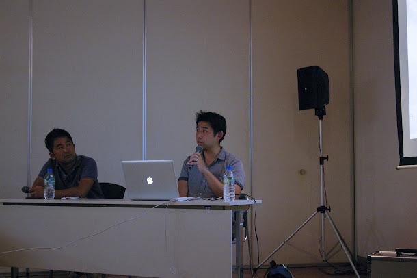 今回は、ボクも沼倉さんの隣でお話しさせて頂きました。