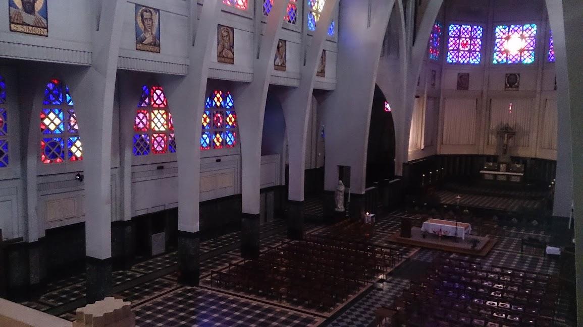 Eglise Saint-Jean-Baptiste à Molenbeek-Saint-Jean à Bruxelles en Belgique
