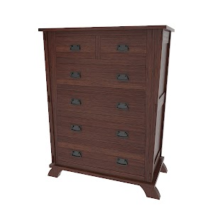 baroque vertical dresser