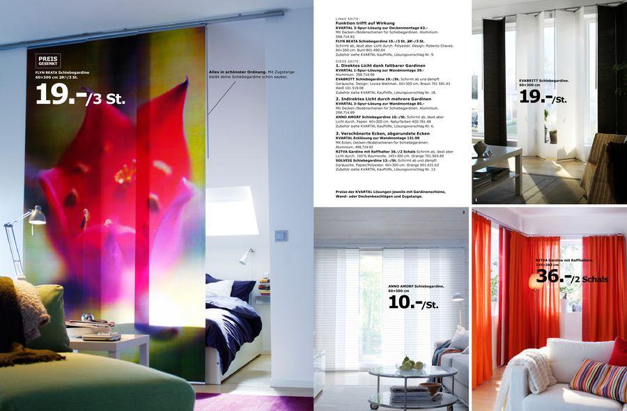 Gardinen Und Schiebegardinen Von Ikea Vorhang Auf F 1 4 R Neue