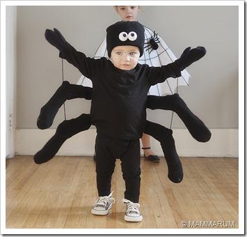 costume halloween ragno