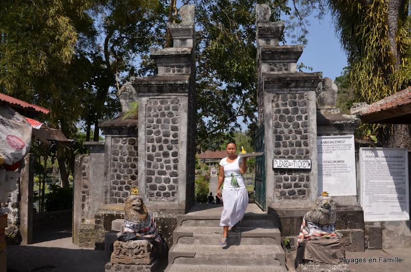 Tirtagangga water palace entry