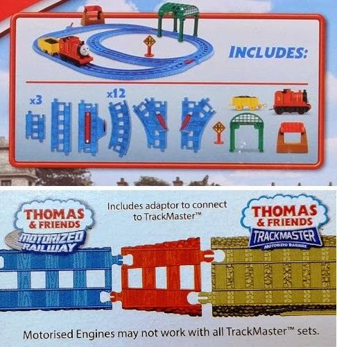 Đồ chơi mô hình Bộ đồ chơi Tàu hỏa James và đường ray trạm Knapford Fisher Price BGL97 bao gồm 24 chi tiết