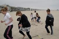 July 2008: Beach Bootcamp