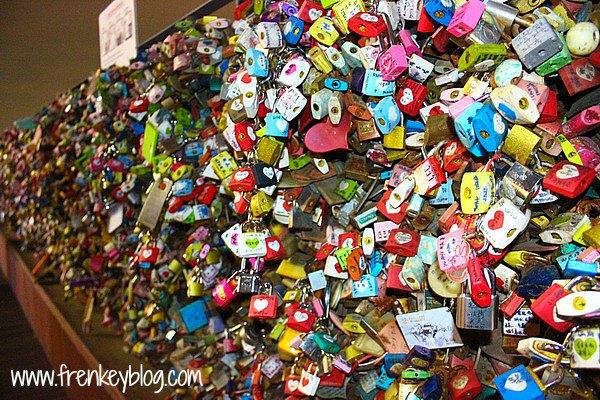 Gembok Cinta di Seoul Tower