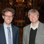 Orgelkonzert zu Pfingsten - Kurt Estermann und Dominik Bernhard - Stiftskirche Wilten - 21.05.2015