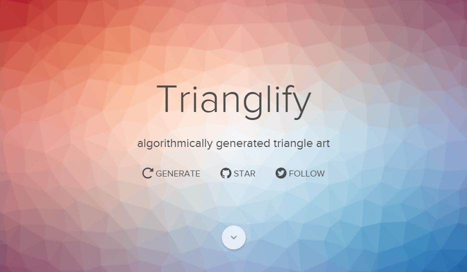 Trianglify