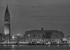 The Campanile and Palazzo Ducale from San Giorgio Maggiore, 5:44am