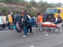Un muerto y dos heridos en accidente de tránsito