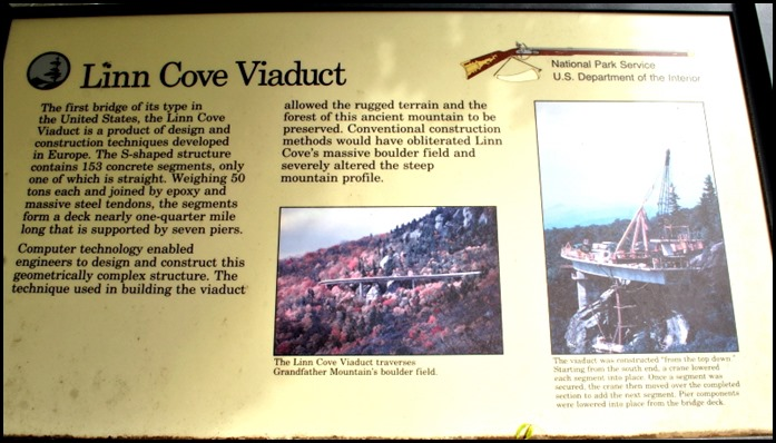 10a - Linn Cove Viaduct Hike May 29 - sign