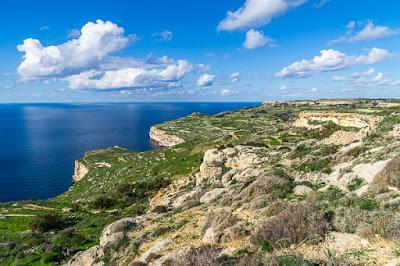 Geocaching auf Malta - Dingli-Cliffs