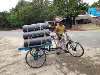 "The Rickshaw ""van"""