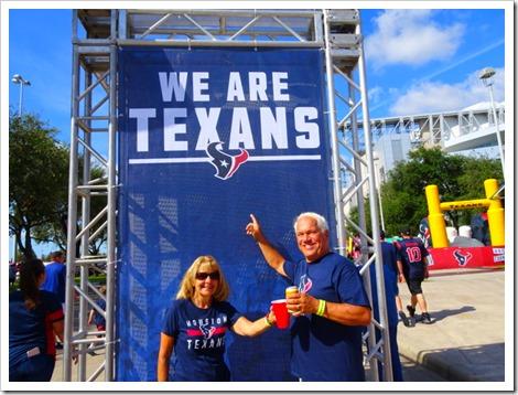 Paul and Marsha Texans