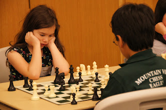 Photo: Mcya Allyn mourning the loss of her rook on h8.