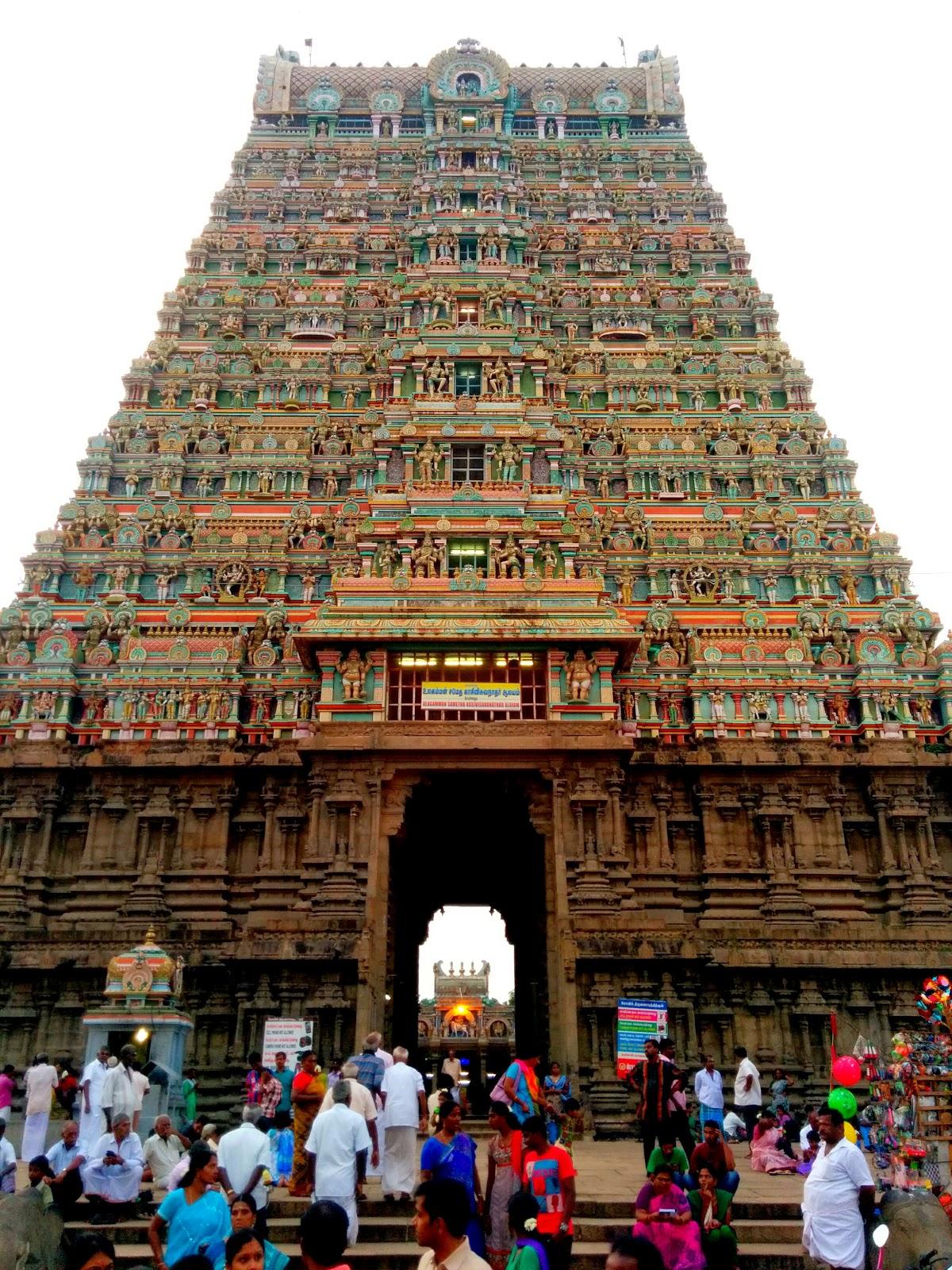 Kasi Visvanathar Temple Gopuram, Tenkasi