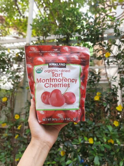 Cherry Sấy Khô Kirkland Organic Dried Tart Montmorency Cherries