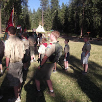 First flag assembly