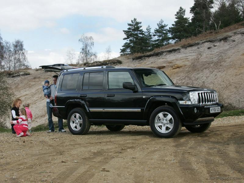 2007 jeep commander suv specifications pictures prices. Black Bedroom Furniture Sets. Home Design Ideas