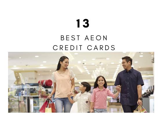 13 Kredit Kad AEON Paling Popular