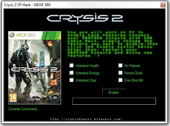 Crysis 2 Hackz
