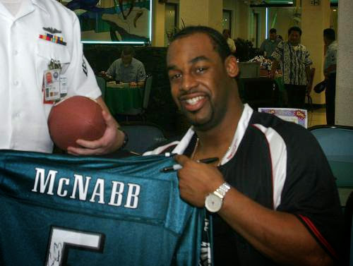 Psychics Say Quarterback Mcnabb Not For The Birds