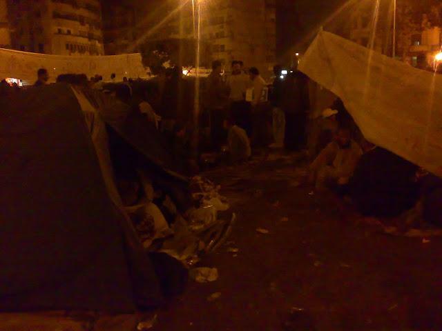 Egyptian Revolution شريف الحكيم Tentsintahrir