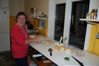 Photo: Ann-Marie fick göra några extra mackor!