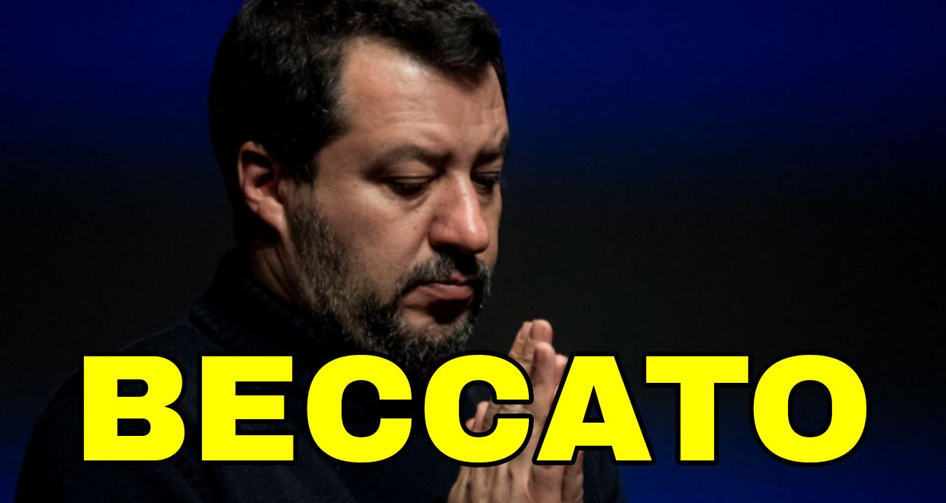 Beccato Salvini: Invita a votare no al taglio dei parlamentari. Ecco la verità