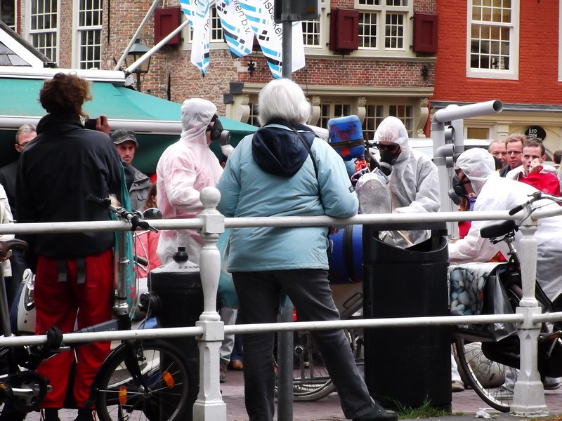 Delft manifestazione