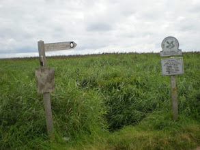 Photo: Norfolk Coast Path - From Brancaster to Warham - Approaching Brancaster Staithe